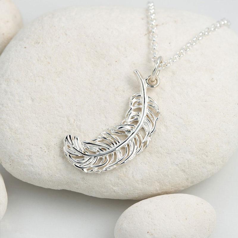 Lily charmed 奇迹羽毛925银项链