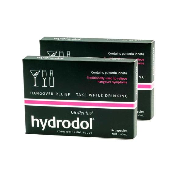 Hydrodol 解酒护肝胶囊 16粒*2